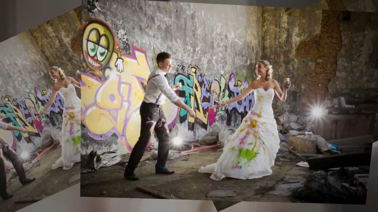 Trash The Dress After Wedding Shoot With Paint Nina Hintringer