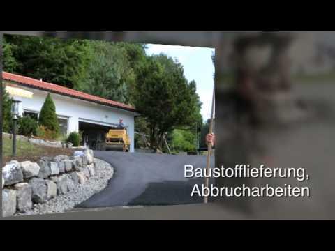 Kanalbau - Sigmarszell Josef Gapp GmbH & Co. KG Bagger- und Tiefbauunternehmen