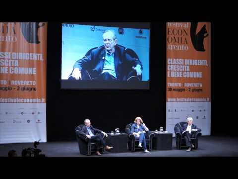 Pier Carlo Padoan, Italy's Minister of Economics and Finance, @ Trento Festival of Economics
