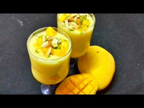 Mango Milk Shake | Mango Shake | Mango Juice | Aamras | Mango Mastani | Refreshing Summer Drink .