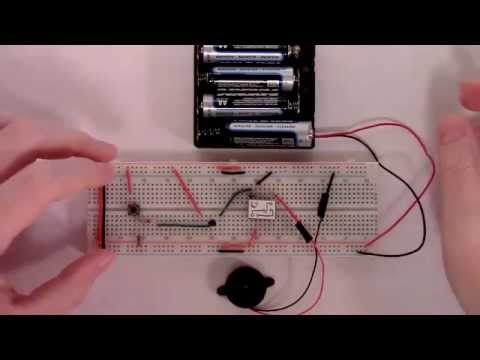 How To Build A Simple Non Latching Intruder Alarm Circuit