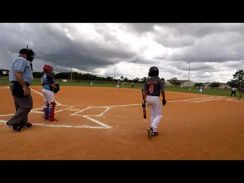 Dixie Youth State Championship Game McLeod Vs Orangeburg 7 10 19 MPV Video