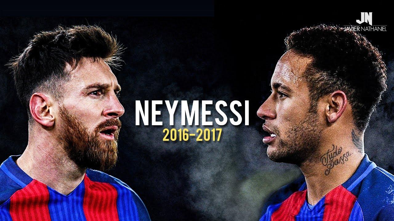 NeyMessi - Sublime Dribbling Skills & Goals 2016/2017
