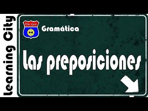 las-preposiciones