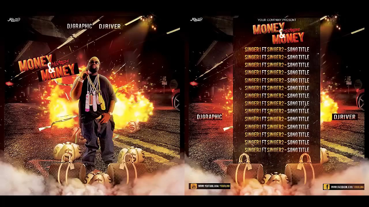 Hip Hop Mixtape/Album CD Cover FREE PSD TEMPLATE - YouTube