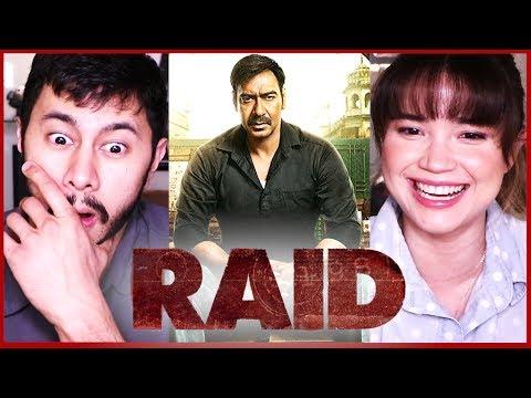 RAID | Ajay Devgn | Ileana D'Cruz | Trailer Reaction by Jaby & Achara!