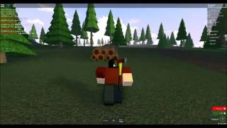 Playing DeadMist 2, Roblox
