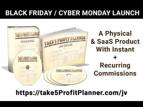 Take 5 Profit Planner JV Info
