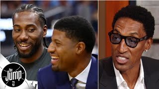 The Clippers are so far ahead of everyone else on defense - Scottie Pippen | The Jump