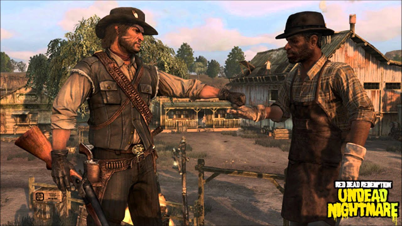 Red Dead Redemption Undead Nightmare OST 12 Thievess Landing YouTube