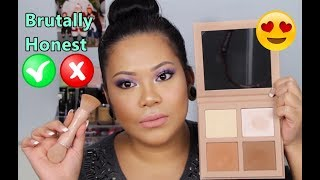 Kkw Beauty Powder Contour & Highlight Kit Review Swatches + Demo   Honest