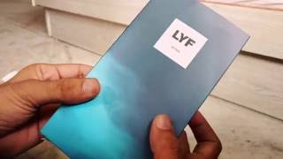 LYF wind 3 unboxing review gaming battery hindi VoLTE phone