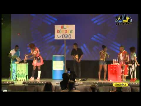 NATIN - The Spartanz / Telesur- Staatsolie Got talent 2014 [Show II]