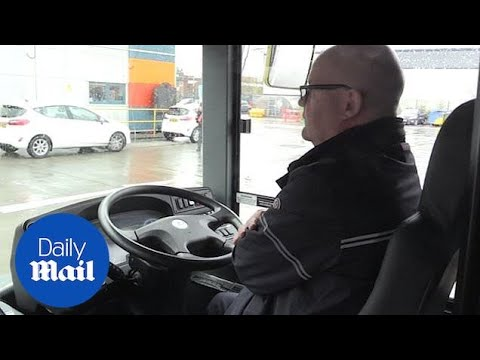 The UK's First Driverless Bus Is Tested On Manchester Streets