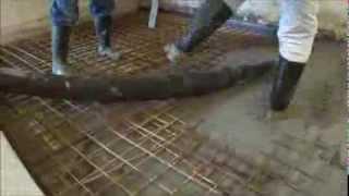 Sanační práce - kompletní sanance podlahy (2013)