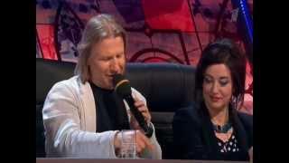 Тамара Гвердцители в шоу Две звезды (13.04.12)