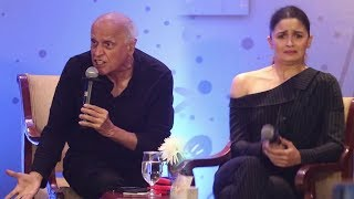 Alia Bhatt Gets Scared As Mahesh Bhatt Gets ANGRY on Media While Answering Questions On Depression