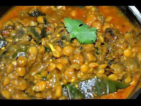 How to make SENAGA PAPPU MASALA CURRY Recipe in Telugu