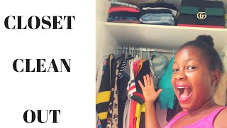 CLOSET CLEAN OUT /MONA CHEGE
