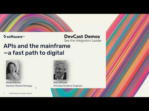 DevCast: APIs and the mainframe–A fast path to digital