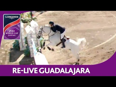 Re-Live | Guadalajara | Longines FEI World Cup™ Jumping 2016/17 NAL | 1,5m pres. by AUDI & Scappino