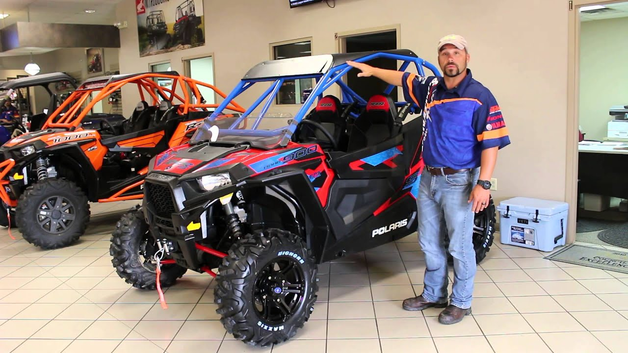 2016 Polaris Rzr S 900 Eps With Custom Houser Cage Youtube