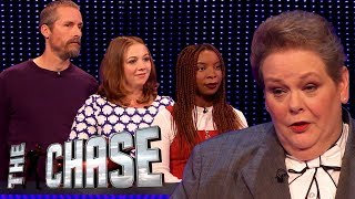 The Chase | Andrew, Tamsin and Kundai's £60,000 Final Chase With The Governess
