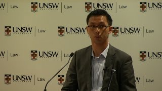 Welcome address to new Undergraduate Law students by UNSW Law alumnus Sean Lau