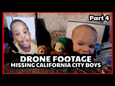 MISSING BOYS DRONE FOOTAGE. California City (Kern county)