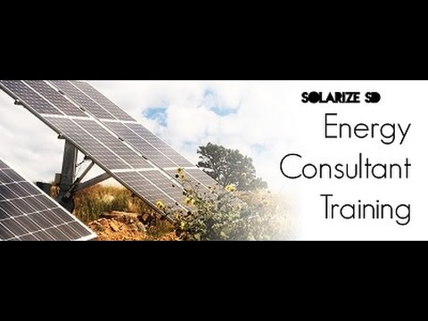 Solarize SD: Energy Consultant Training part I