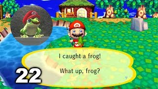 Mario Plays ACCF #22 (Animal Crossing: City Folk)