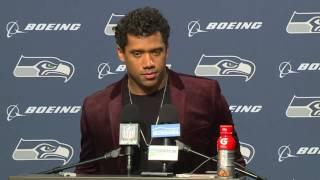 Seahawks Quarterback Russell Wilson Postgame Press Conference vs Eagles