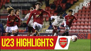 U23 Highlights   Manchester United 3-0 Arsenal   The Academy