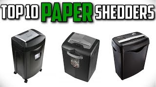 10 Best Paper Shredders In 2019