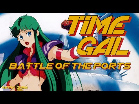 Battle of the Ports - Time Gal (タイムギャル) Show #176 - 60fps