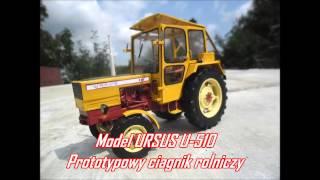 ModelezCl - Budowa modelu ciągnika Ursus U-510