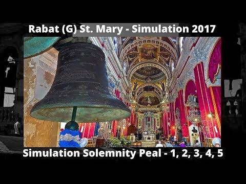 Rabat (G) St. Mary - Simulation Peal (2017) 1,2,3,4,5 - 5 Bells / 1