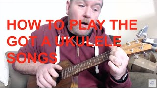 Got A Ukulele Beginners Tips - How To Play Those Songs On The Review Videos!