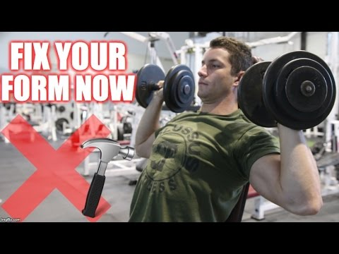 How to PROPERLY Shoulder Press | 5 Variations for Muscle Gain