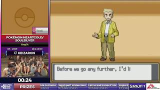 Pokémon HeartGold/SoulSilver by Keizaron in 2:36:24 - SGDQ2017 - Part 47