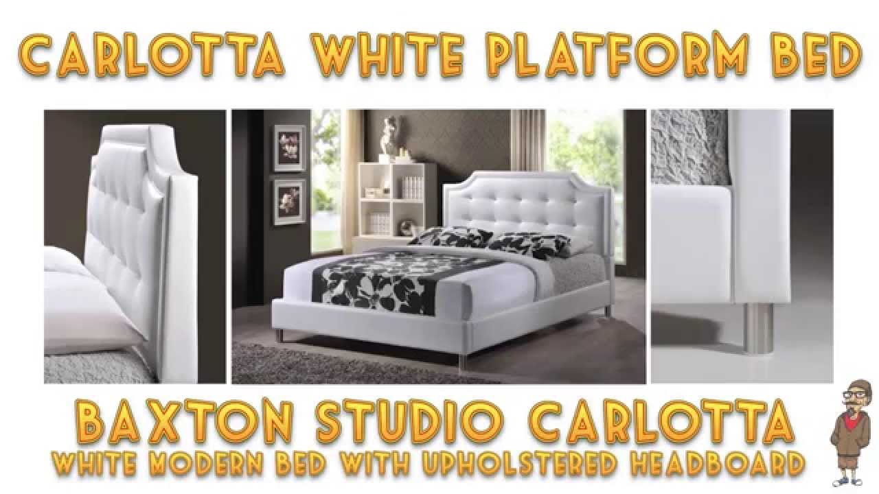 How To Build A Platform Bed Baxton Studio Carlotta Tips And Review