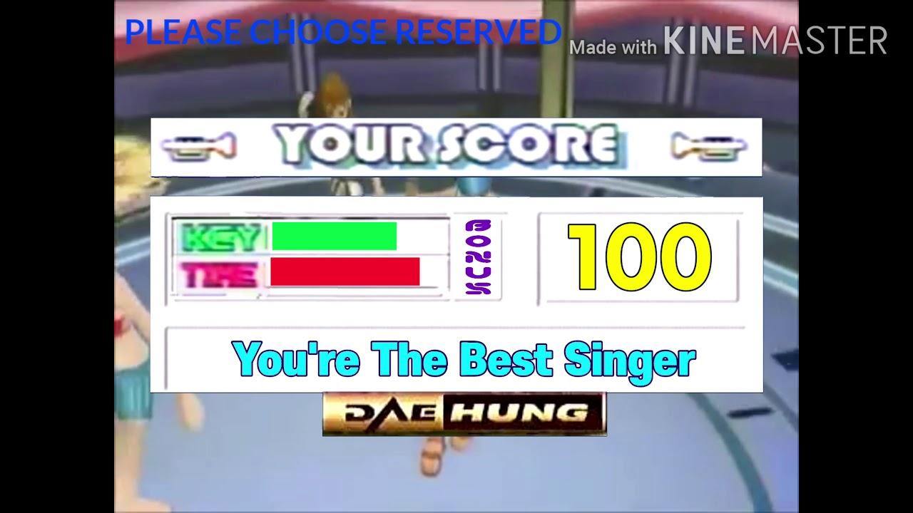 Videoke score 100 Fanfare 2