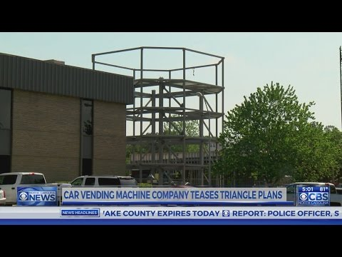Car vending machine appears to be coming to Raleigh
