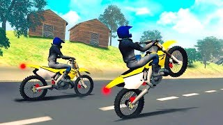 Bike Racing Games - Highway Trail Bike Racer - Gameplay Android free games