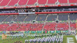 USF vs. Elon: USF Football Team Enters the Field at Raymond James Stadium