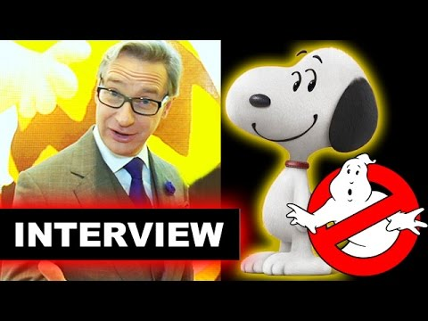 Paul Feig Interview - The Peanuts Movie 2015, Ghostbusters 2016 - Beyond The Trailer