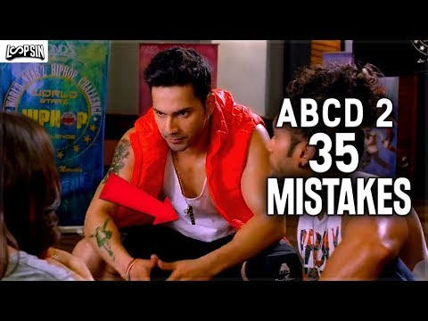 [FTWW] ABCD 2 movie mistakes | FilmThing Wrong With ABCD 2 | LoopSin Ep3