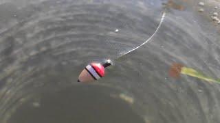 Раздача КАРАСЯ СО ЛЬДА НА ПОПЛАВОК - УТЯГИВАЕТ УДОЧКИ!! Зимняя Рыбалка