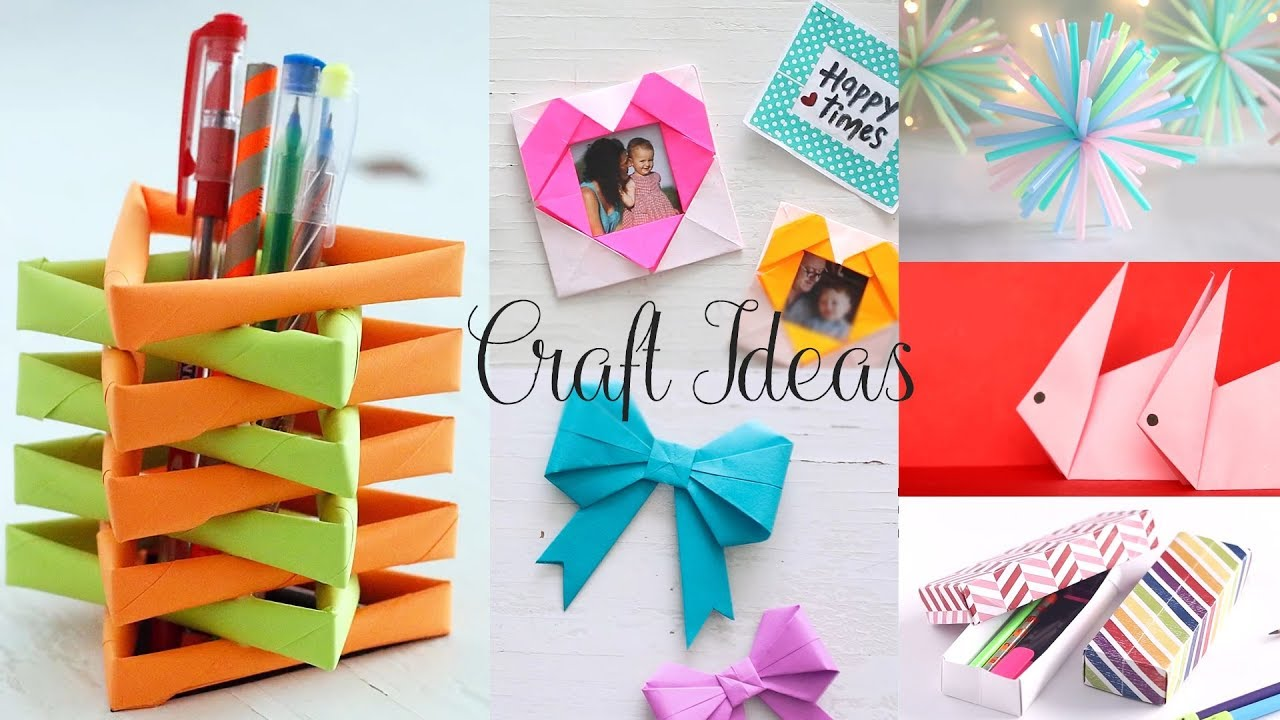 Easy Craft Ideas Amazing Diy Tutorial How To Make Youtube