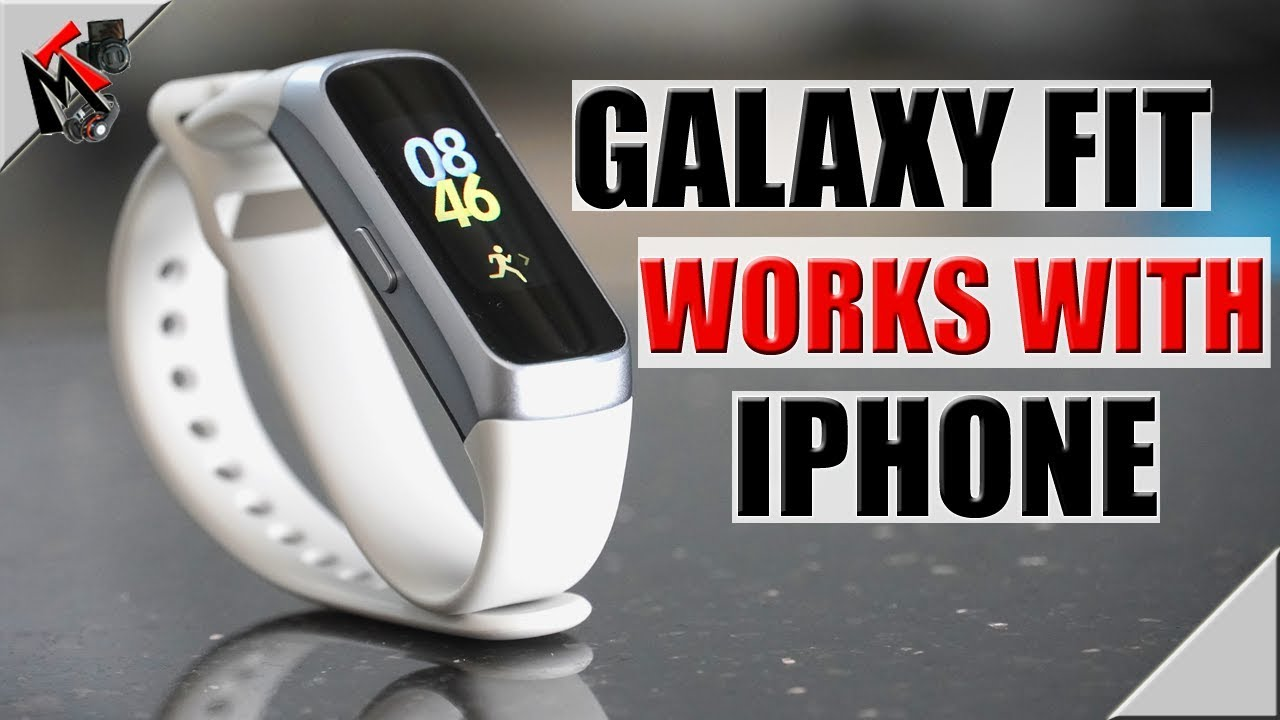 The Galaxy FIT does work with an IPHONE | I put it to the test